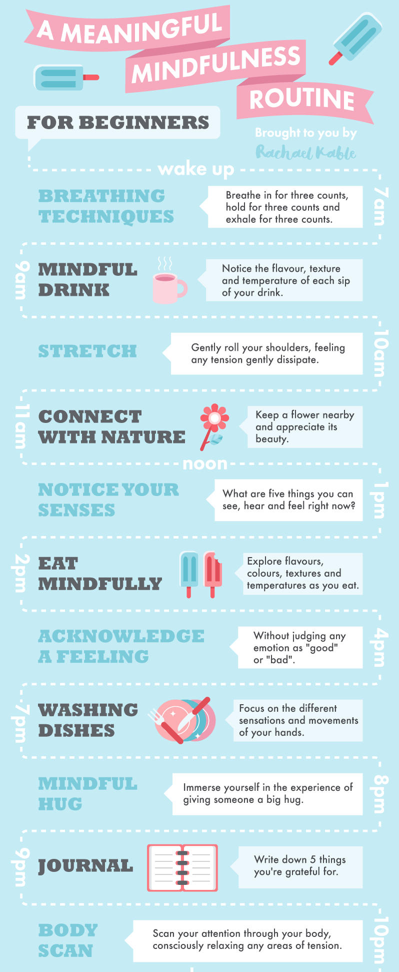 Daily Meaningful Mindfulness Routine for beginners