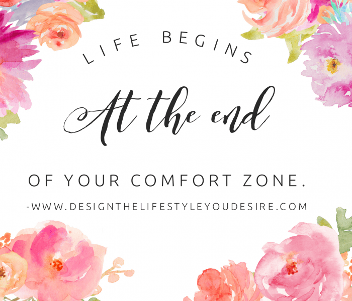 Time to get out of your comfort zone? Here's how!