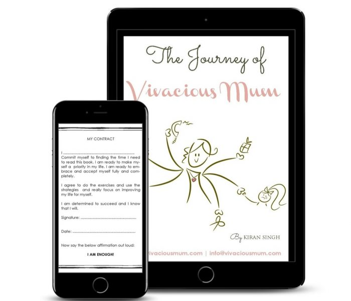 'The Journey of Vivacious Mum' available on Amazon!