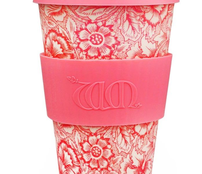 """Poppy"" William Morris Ecoffee Cup"