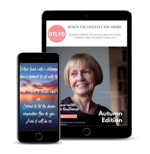 The #BlissfulForties Magazine - Autumn Edition
