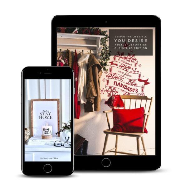 The #BlissfulForties Magazine - Christmas Edition