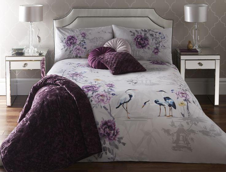 kumiko plum bedding design the lifestyle you desire. Black Bedroom Furniture Sets. Home Design Ideas