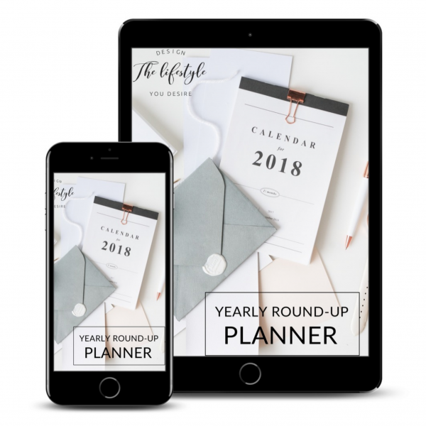 Yearly Round-up Planner