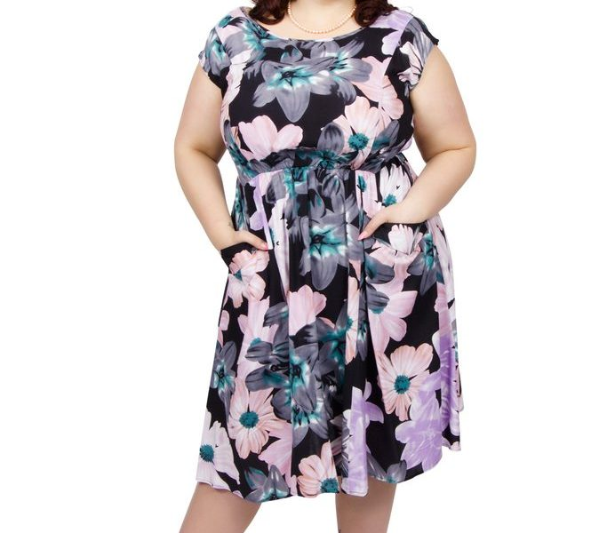 Scarlett & Jo Floral Pocket Dress