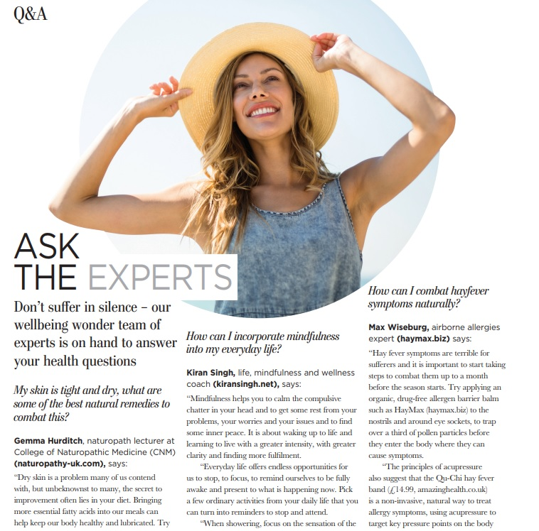 Feature Natural Health Mag