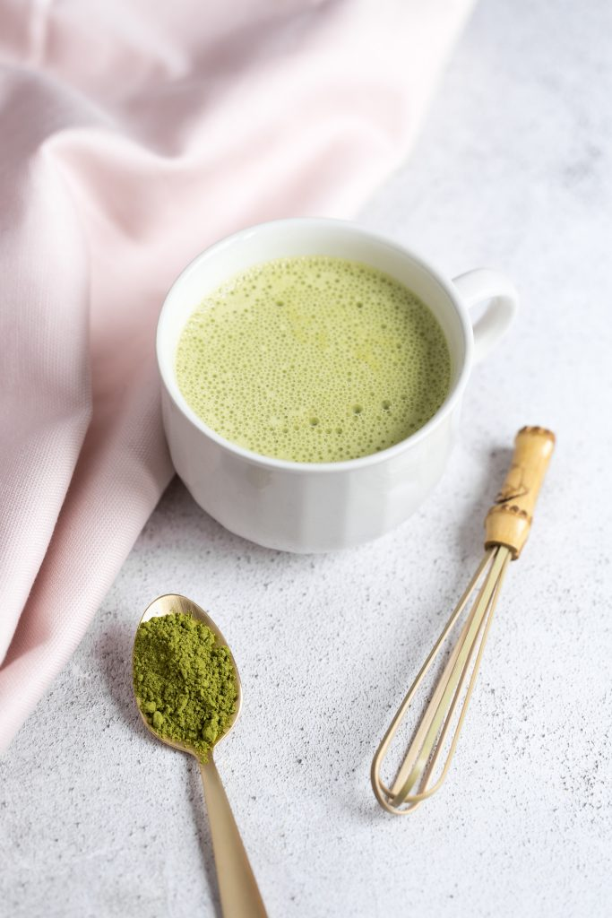 Coconut Matcha Latte Drink