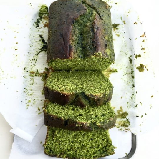Matcha + Lemon Cake