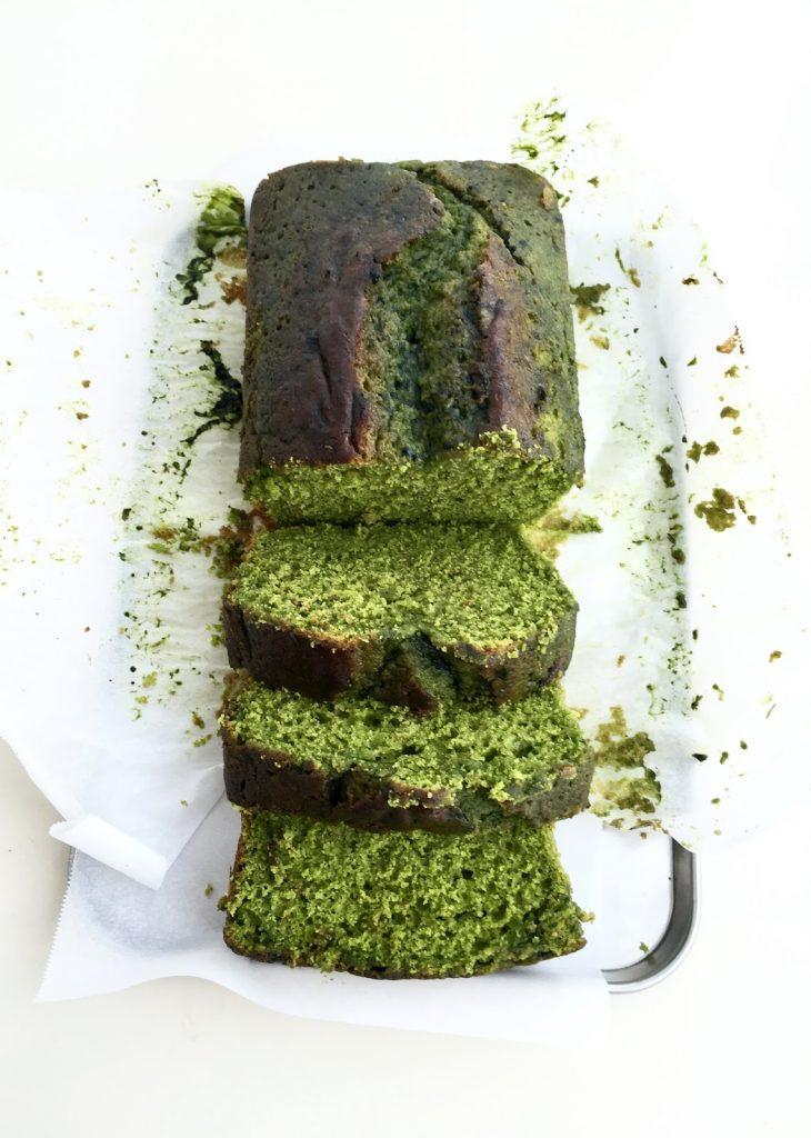 Matcha + Lemon Cake