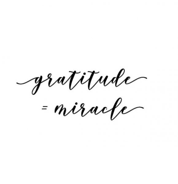 Starting my mornings with Gratitude