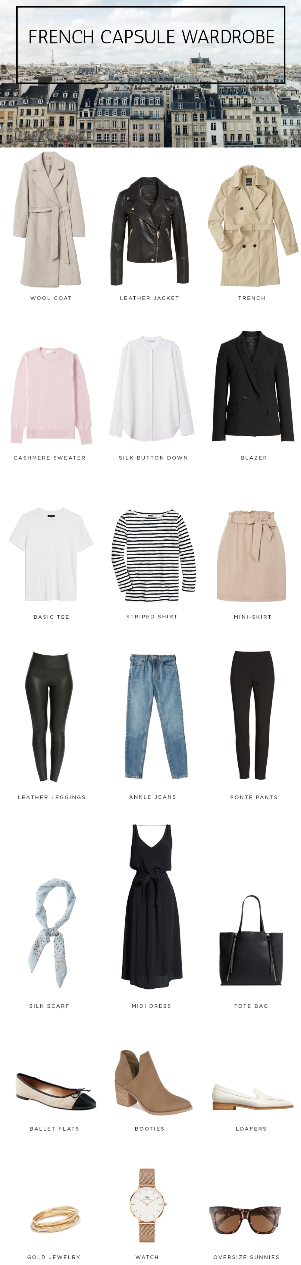 FRENCH CAPSULE WARDROBE