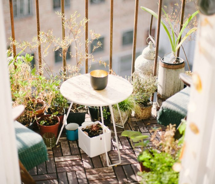 Top tips to transform your balcony